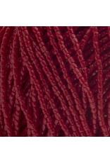 Czech 10048 9/0 3 Cut Seed Hank 30g  Opaque Dark Red