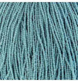 Czech 10020 9/0 3 Cut Seed Hank 30g  Opaque Turquoise Blue