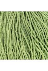 Czech 10026 9/0 3 Cut Seed Hank 30g  Opaque Light Green