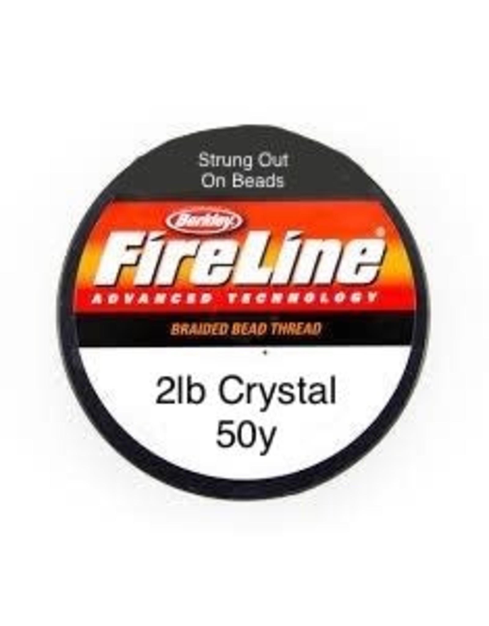 2lb Fireline Crystal  x50y