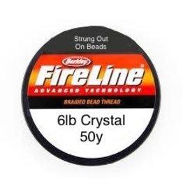 6lb Fireline Crystal  x50y