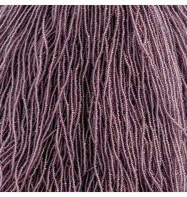 Czech 601004 13/0 Charlotte Cut Seed Hank 12g  Transparent  Purple