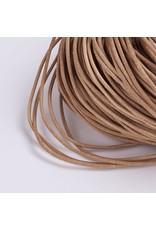 201sb 2mm Leather Peru Brown 10 meter