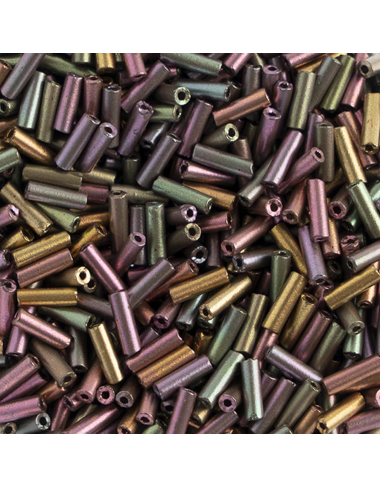 Czech *403007  #3 Bugle 10g Dark Copper Ab Matte Metallic