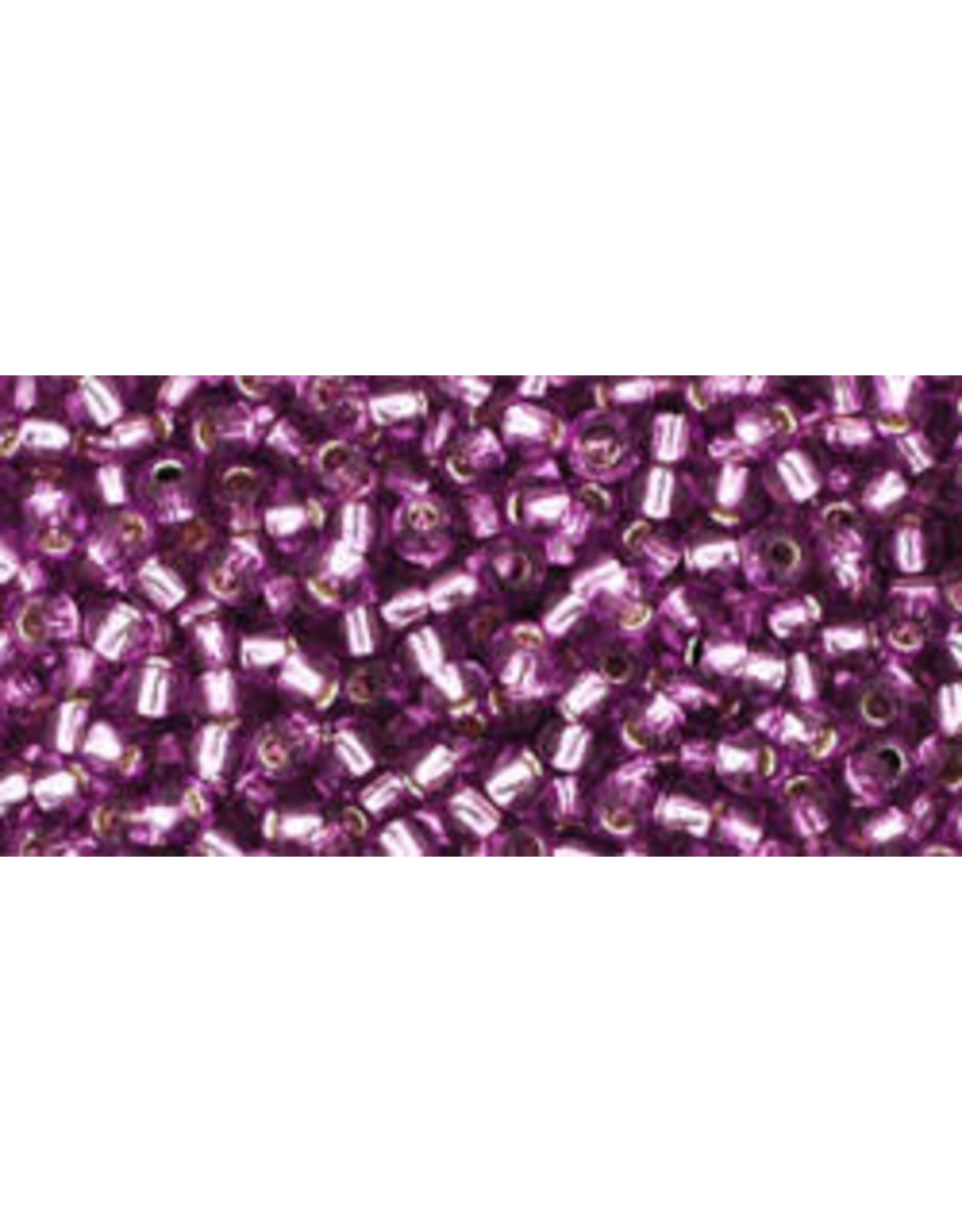 Toho 2219 11  Round 6g Light Grape Purple s/l