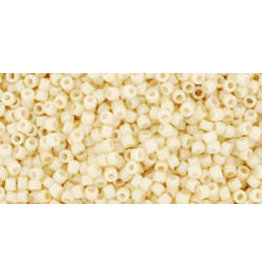 Toho 762B 15  20g  Opaque Eggshell Cream Beige