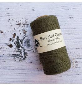 Recycled Cotton Cord  1.5mm  Khaki  x100m