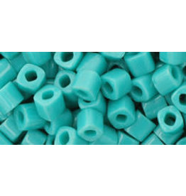 Toho 55  4mm  Cube  6g  Opaque Turquoise Blue