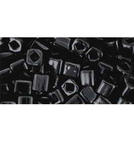Toho 49  4mm  Cube  6g  Jet Black