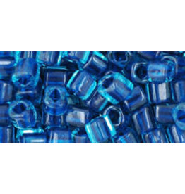 Toho 932  4mm  Cube  6g   Aqua Capri Blue c/l