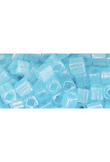 Toho 143  4mm  Cube  6g  Ceylon Aqua Blue