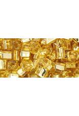 Toho 22b  4mm  Cube  6g   Gold s/l