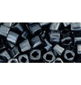 Toho 81  4mm  Cube  6g   Gunmetal Grey Metallic