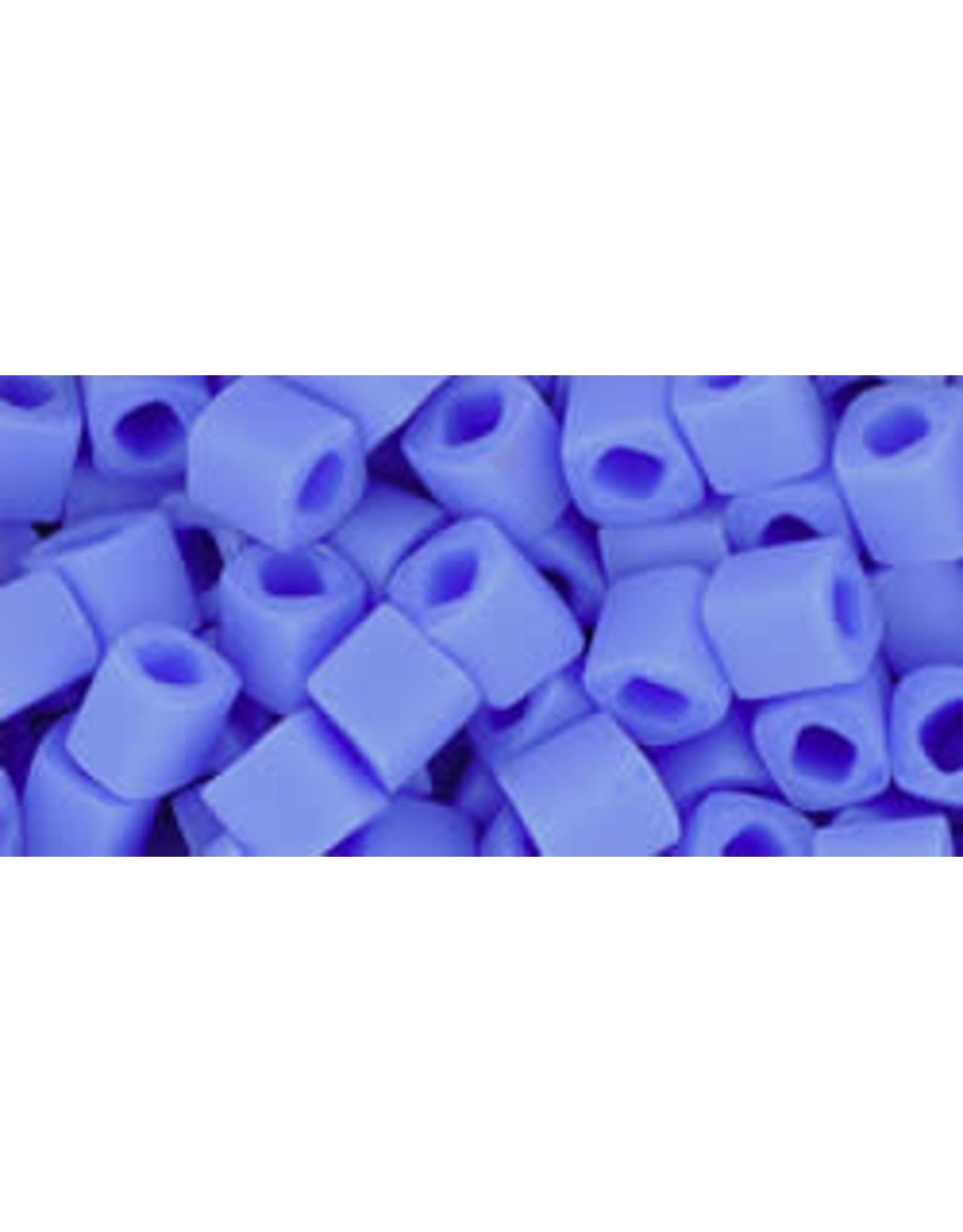 Toho 48LfB   4mm  Cube  40g   Opaque Periwinkle Blue Matte