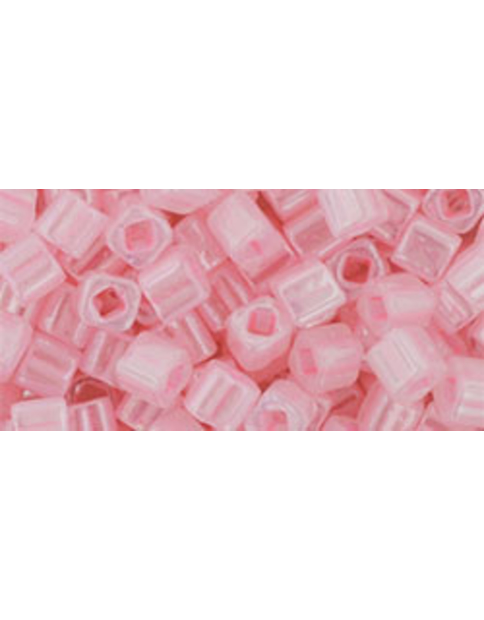 Toho 145B  4mm  Cube  40g   Ceylon Pink