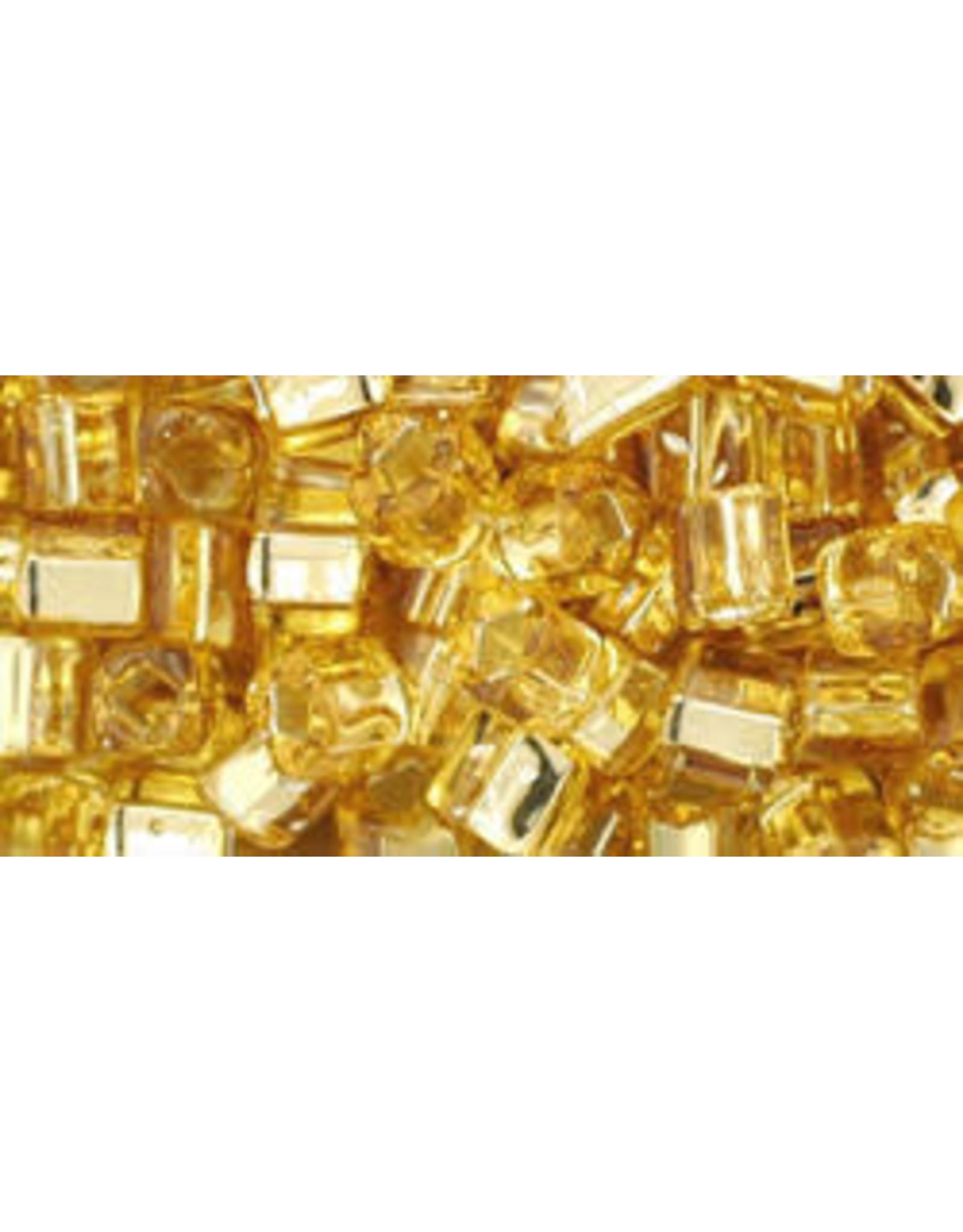 Toho 22bB  4mm  Cube  40g   Gold s/l