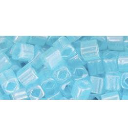 Toho 143B  4mm  Cube  40g  Ceylon Aqua Blue