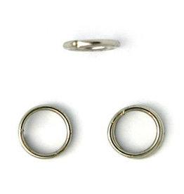 Jump Ring 6mm Platinum  approx 20g  x100