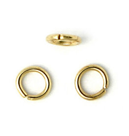 Jump Ring 4mm Gold approx 21g  x100 NF