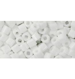 Toho 41  3mm  Cube  6g  Opaque White