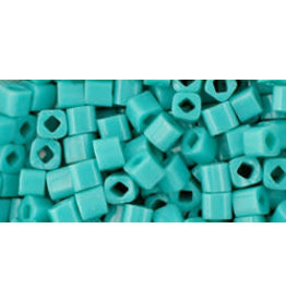 Toho 55  3mm  Cube  6g  Opaque Turquoise Blue