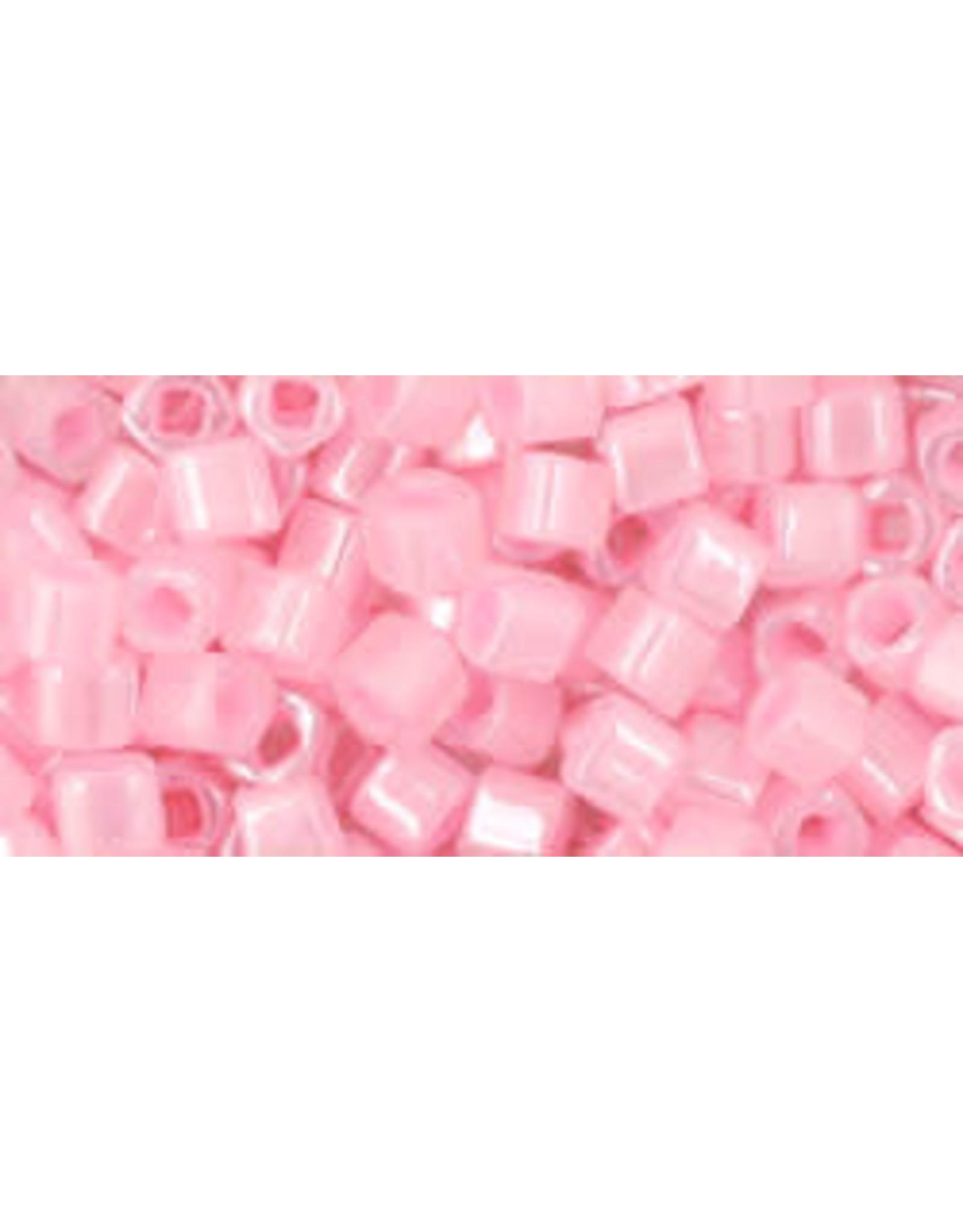 Toho 145  3mm  Cube  6g  Ceylon Light Pink