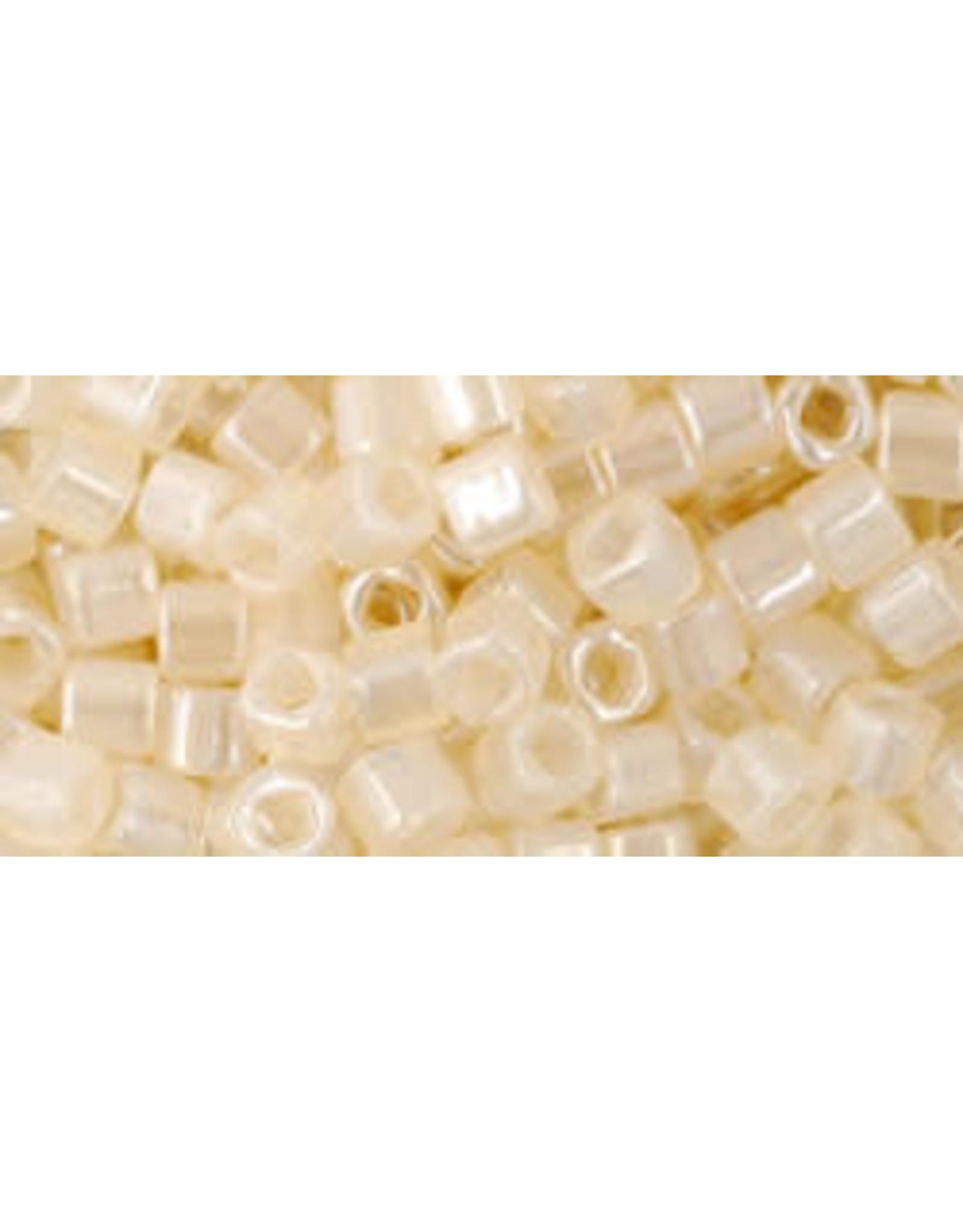 Toho 147  3mm  Cube  6g  Ceylon Ivory