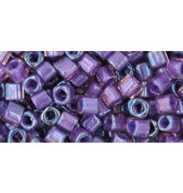 Toho 928  3mm  Cube  6g  Rosaline Pink Purple c/l