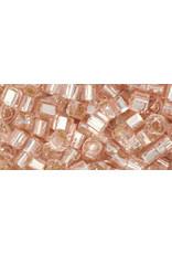 Toho 31  3mm  Cube  6g  Rosaline Pink s/l