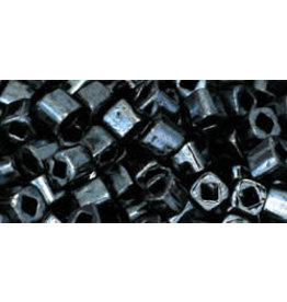 Toho 81  3mm  Cube  6g  Gunmetal Grey