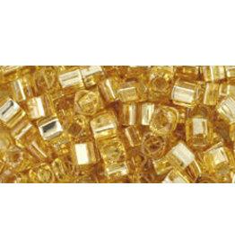 Toho 22  3mm  Cube  6g  Gold s/l