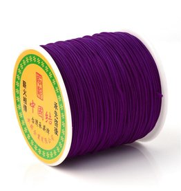 Chinese Knotting Cord .8mm Purple  x100y