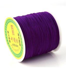Chinese Knotting Cord .8mm Indigo  x100y