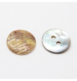 Mother of Pearl Shell Button 10mm x100