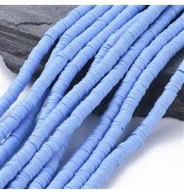 Polymer Clay 6mm Heishi Cornflower Blue approx  x380