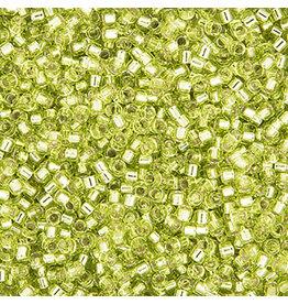 Miyuki db147B 11 Delica 25g   Chartreuse Green s/l