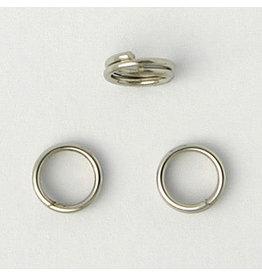 Split Ring 5mm Platinum   x100