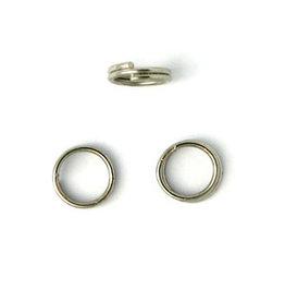 Split Ring 6mm Platinum   x100