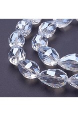 28x18mm Drop Chinese Crystal Lustre x6