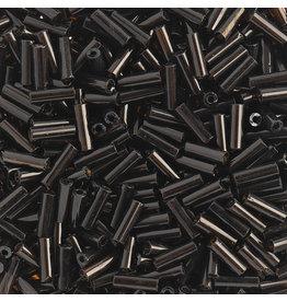 Czech 401017  #3 Bugle 20g  Transparent Dark Topaz Brown