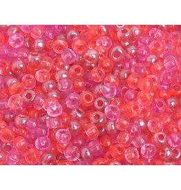 Czech 40144B  6  Seed 250g  Transparent Pink Mix