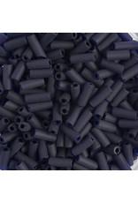 Czech 34835B  8x3mm Wampum Bugle 125g Cobalt Blue Matte