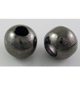 8mm Round Gunmetal Spacer Bead    x50 Iron