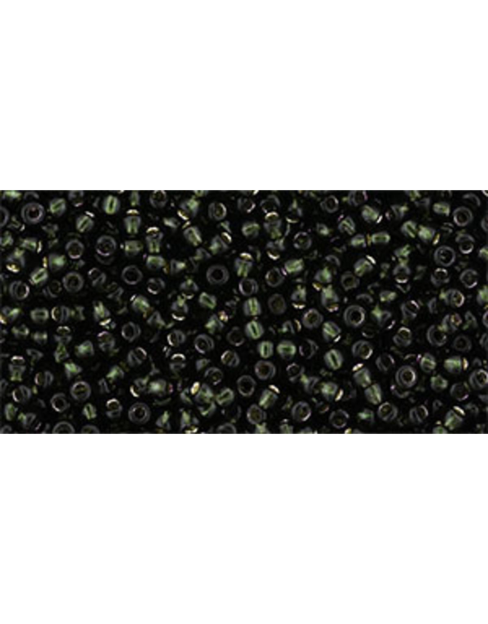 Toho 2209 11 Toho Round 6g  Dark Emerald Green s/l