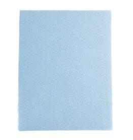 "Felt Beading Foundation Light Blue 1.5mm thick 8.5x11"""