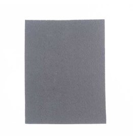 "Felt Beading Foundation Grey 1.5mm thick 8.5x11"""