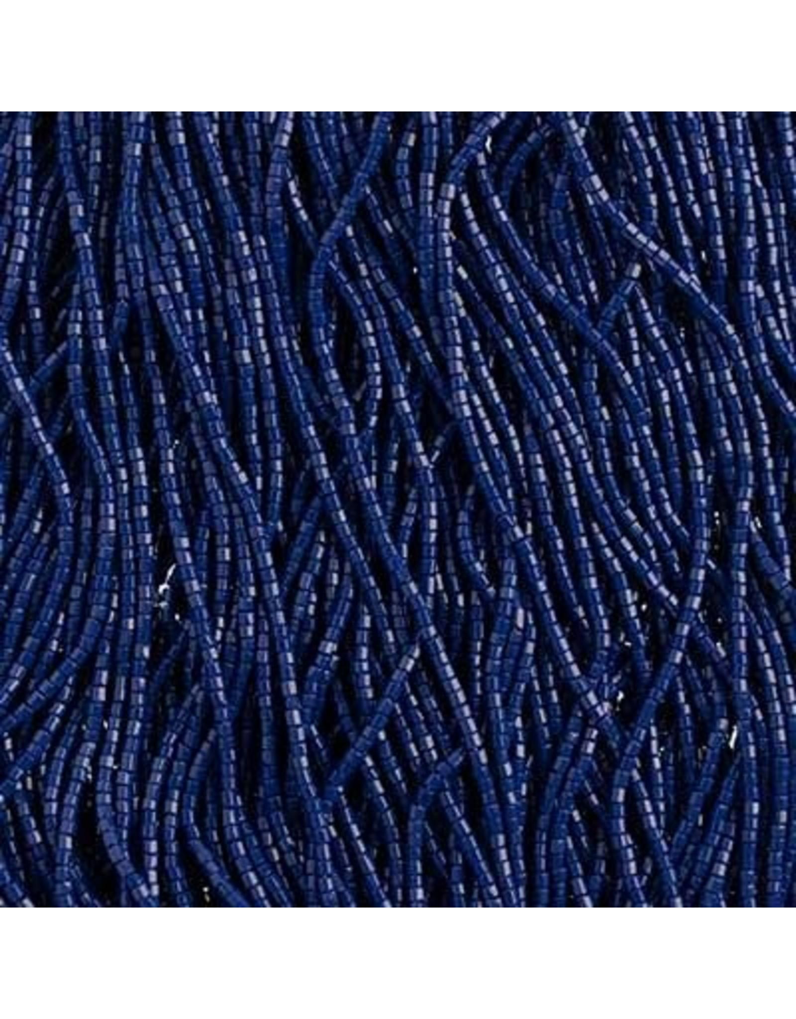 Czech 29349 10/0 2 Cut Seed Hank 20g  Opaque Royal Blue
