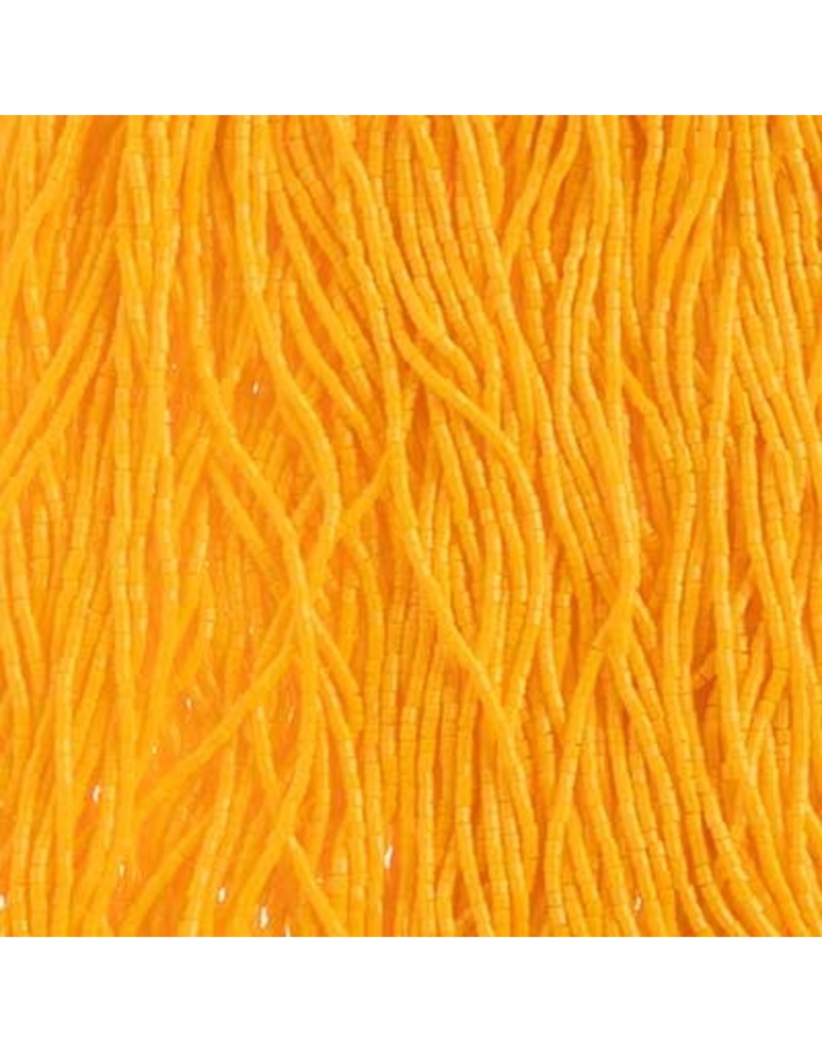 Czech 29359 10/0 2 Cut Seed Hank 20g  Opaque  Light Orange