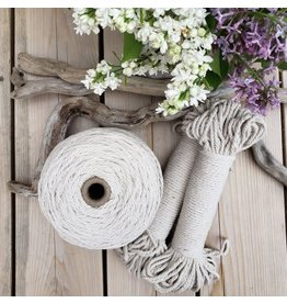 Recycled Cotton Cord  4mm Natural 150ft