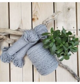 Recycled Cotton Cord  4mm Grey 150ft